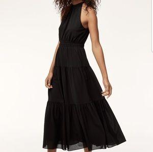 Wilfred (Aritzia)  Effet maxi dress in black
